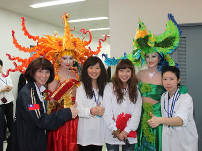 The Department of Cosmetic Science won an award at an international competition